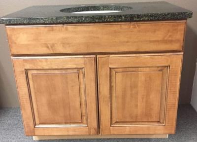 Builders Surplus 36 Inch Bathroom Vanity Cabinet